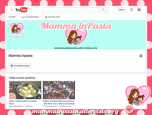 mammainpasta youtube - video patate lesse